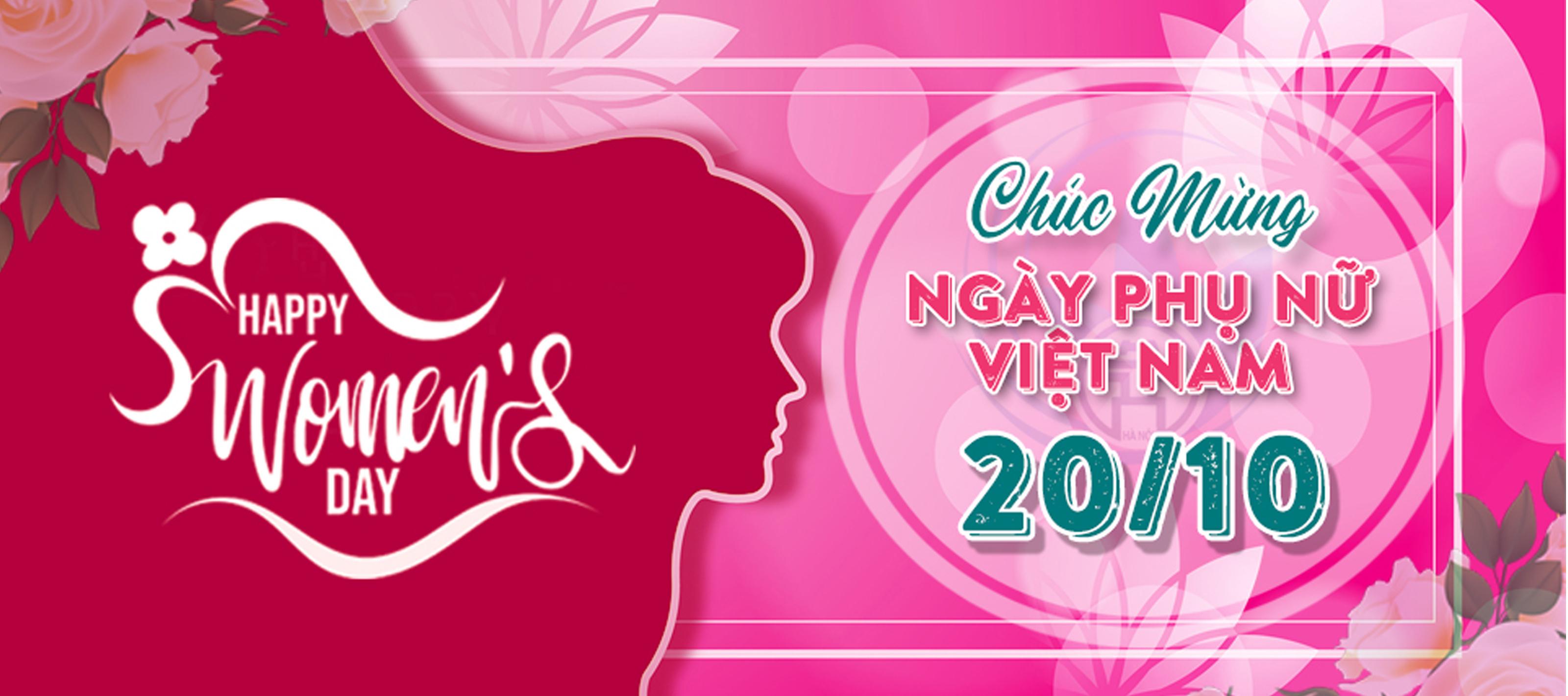 Chúc mừng ngày Phụ nữ Việt Nam 20/11